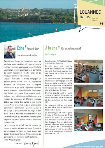 Louannec Infos avril 2021